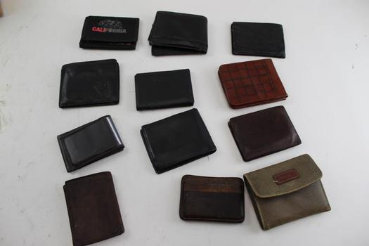 Loungefly Disney, Reaction Kenneth Cole, & More Assorted Wallets; 10+ Pieces
