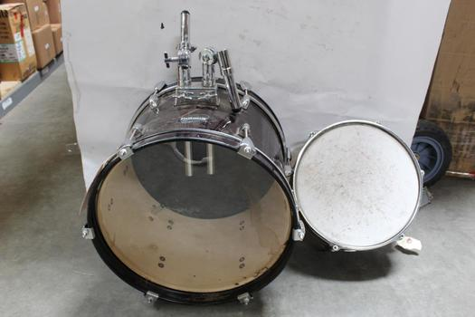 Ludwig Accent CS Combo Drums Snare, Floor Tom: 2 Piece