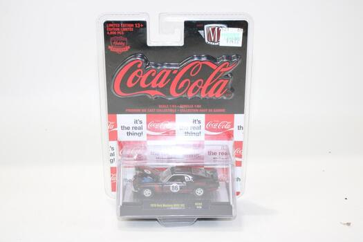 M2 Machines Coca Cola 1970 Ford Mustang Boss 302