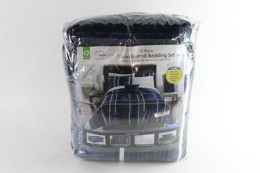 Mainstays 8-Piece Coordinated Bedding Set, Queen Sized