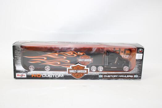 Maisto Harley Davidson Custom Hauler Trailer