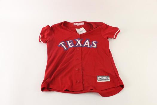 Majestic Texas Rangers Jersey, Size  M