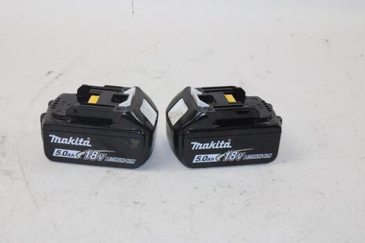 Makita 5.0H 18 V Lithium Ion Batteries