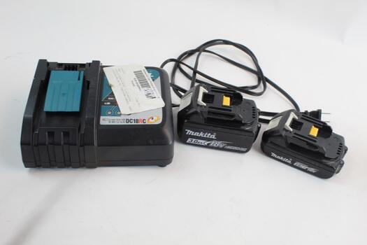 Makita Battery Charger And Battery Pack 3 Items