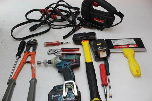 Makita Btd141 Drill, Stanley Bullet Nose Hammer, & More; 5+ Pieces