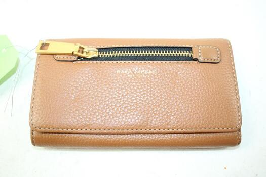 Marc Jacobs Maple Tan Hand Wallet