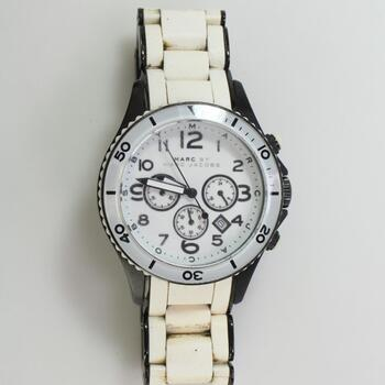 Marc Jacobs Rock White Watch