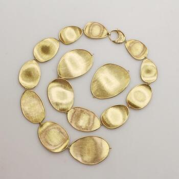 Marco Bicego 18K Gold Lunaria Necklace