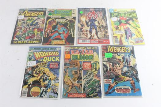 Marvel And DC Comic Books, 8 Pieces