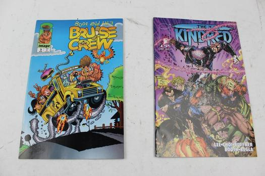 Marvel And Image Comic Books, 10 Pieces