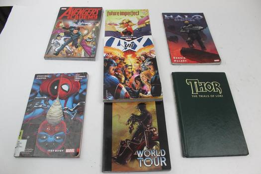 Marvel Comics: Avengers Vs X-Men, Thor, Deadpool Spiderman And More: 5+ Comics