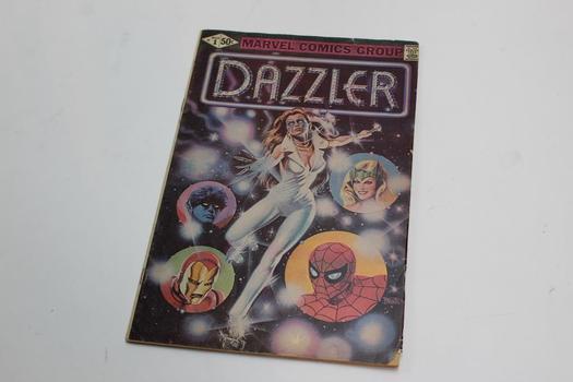 Marvel Dazzler Comic