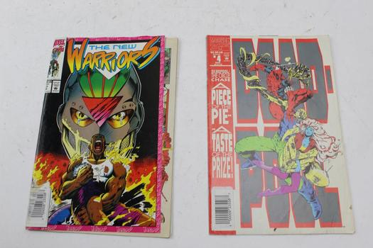 Marvel, DC Comics And More Assorted Comic Books, 10 Pieces