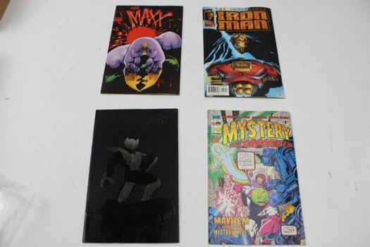 Marvel, Image And More Assorted Comic Books, 10 Pieces