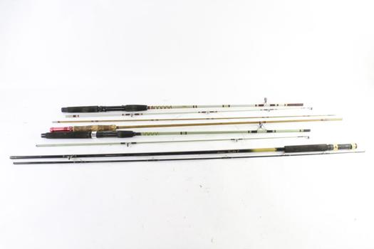 Master And Other Fishing Rods, 4 Pieces