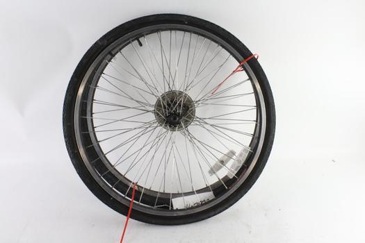 """Matrix 550 Rims With Tires, Size 26""""x1.75"""", 2 Pieces"""
