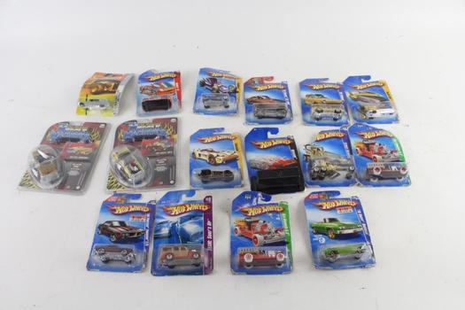 Mattel Hot Wheels Toy Cars And More, 10+ Pieces