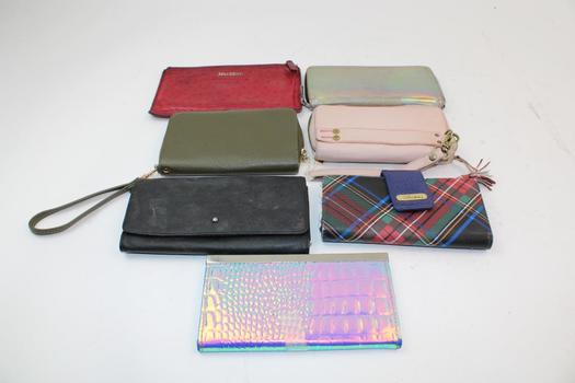Max Mara, Buxton, & More Assorted Wallets; 7 Pieces
