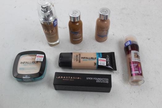Maybelline, Loreal, Anastasia: Stick Foundation, Eraser, Sunscreen And More: 5+ Items