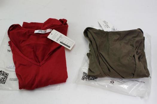 Meaeor Shirts, Size M, 2  Piece Count
