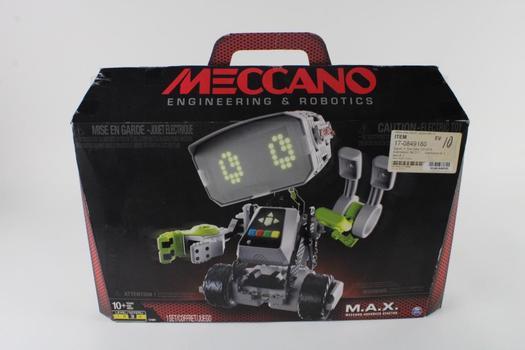 Meccano M.A.X. Buildable Customizable Smart Robot