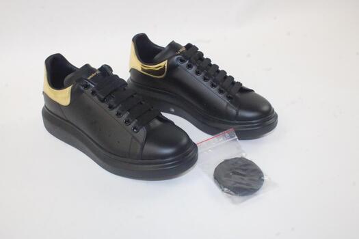 Men's Alexander McQueen Oversized Leather Platform Sneakers