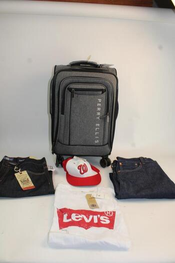 Men's Clothing & Perry Ellis Carry On