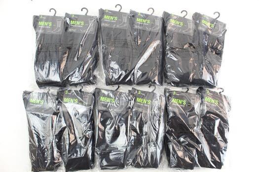 Men's Dress Crew Socks 6 Packs