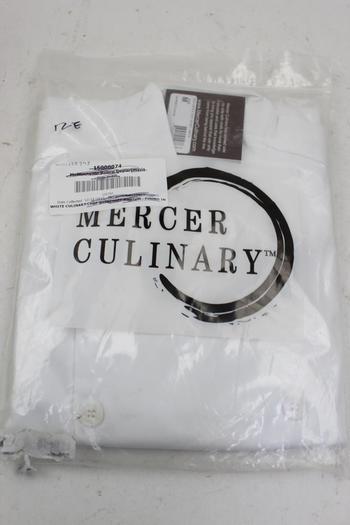 Mercer Tool M61010 Genesis Unisex Chef Jacket White
