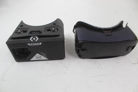 Merge 360 & Samsung Vr Goggles; 2 Pieces