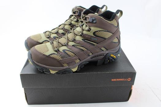 Merrell Men's Moab 2 Mid GTX Bracken High Top Shoes Size 10