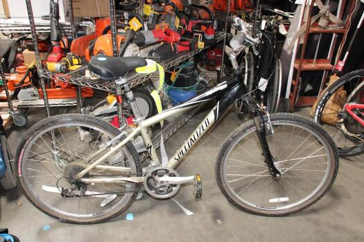 Metallic Brown And Black Specialized Mountain Bike