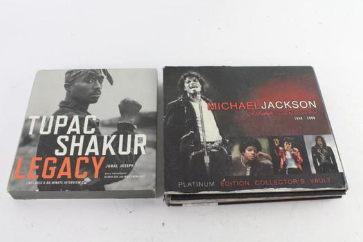 Michael Jackson And Tupac Shakur Biography Books
