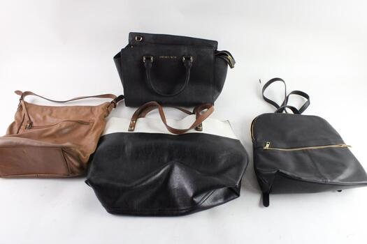 Michael Kors And Other Handbags, And More, 4 Pieces