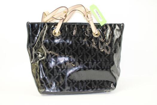 Michael Kors Black Patent Leather Tote