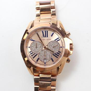 Michael Kors Bradshaw Rose Gold Tone Watch