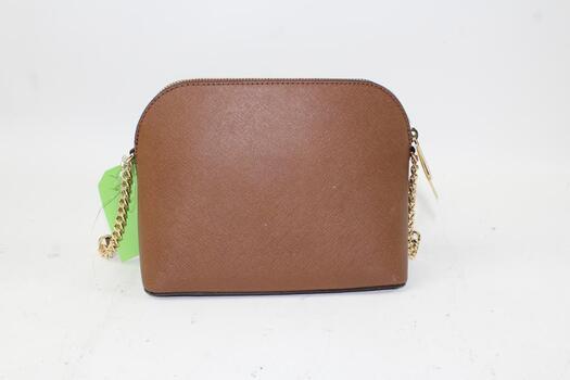 Michael Kors Cindy Brown Leather Large