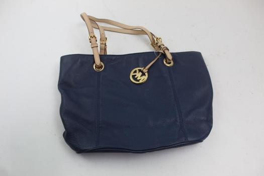 Michael Kors Leather Large Tote Handbag