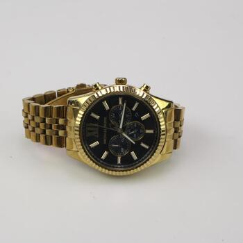 "Michael Kors ""Lexington"" Chronograph Watch"