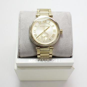 Michael Kors Skylar Champagne Watch