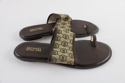 Michael Kors Slide Womens Sandals, Size 10M