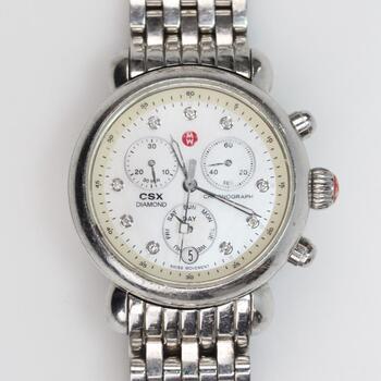 Michele Ladies CSX Diamond Watch