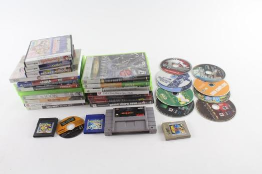 Microsoft Xbox 360 Games, And More, 20+ Pieces