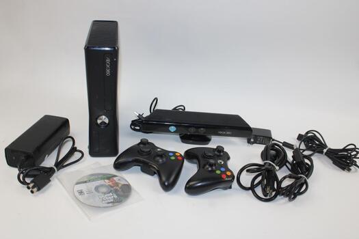 Microsoft Xbox 360S Video Game Console