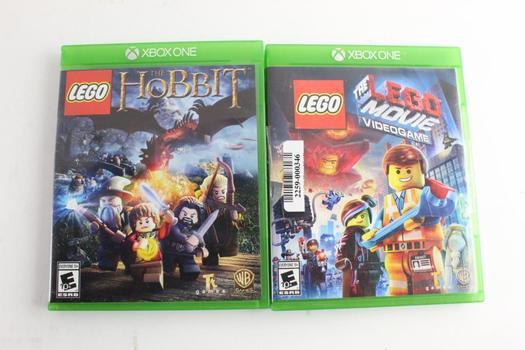 Microsoft Xbox One Games, 2 Pieces