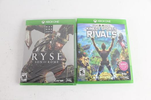Microsoft Xbox One Games, 2 Pieces