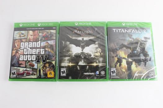 Microsoft Xbox One Games, 3 Pieces
