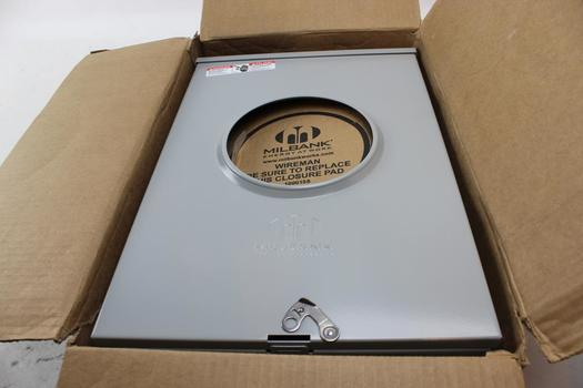 Milbank U9551-RXL-QG-AMS Single-Position Meter Sockets Electrical Panel