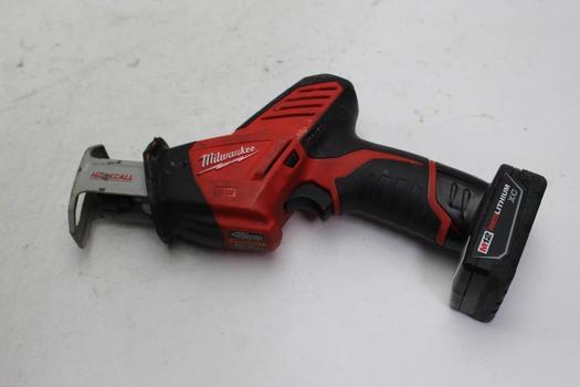 Milwaukee 2420-20 Hackzall Reciprocating Saw