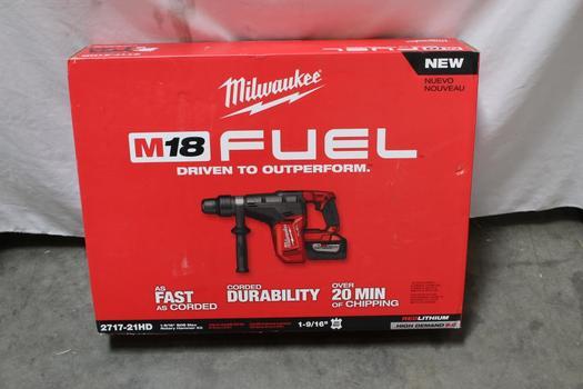 Milwaukee 2717-21HD M18 1 9/16 SDS Max Rotary Hammer Kit